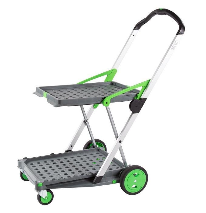 clax cart folding trolley easy roll materials handling