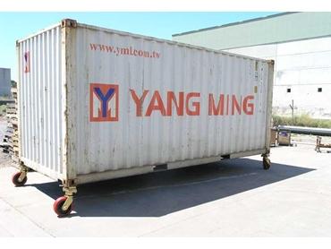 Container Castors Easy Roll Materials Handling